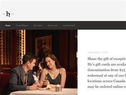 Hy's Steakhouse & Cocktail Bar gift card purchase