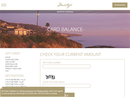 Pendry Hotels gift card balance check