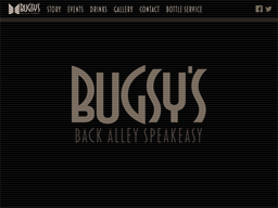 Bugsy's Back Alley Speakeasy shopping