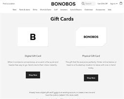 Bonobos gift card purchase