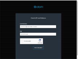 Atom Tickets gift card balance check