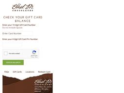 Ethel M gift card balance check