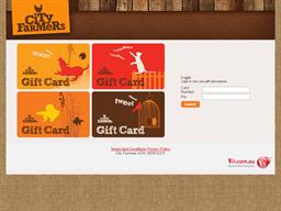 City Farmers gift card balance check
