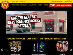 Keystone Fireworks shopping