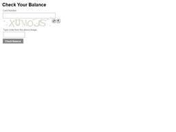 Arrowhead Grill gift card balance check
