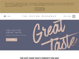The Devon Doorway gift card purchase