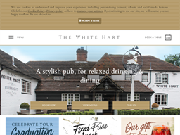 The White Hart Woking / Pirbright shopping