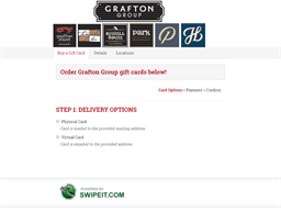 Grafton Group gift card purchase
