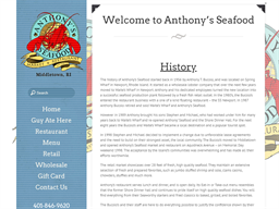 Anthony's Seafood shopping