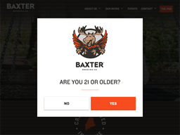 Baxter Brewing Co. shopping
