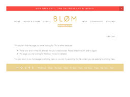 Blom gift card purchase