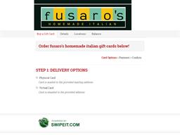 fusaro's homemade italian gift card balance check