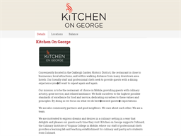 Kitchen On George gift card purchase