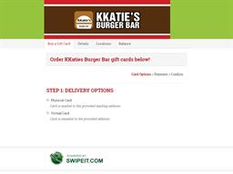 KKaties Burger Bar gift card balance check