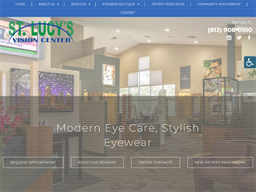 St. Lucy's Vision Center shopping