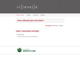 villanelle gift card balance check