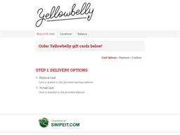 Yellowbelly gift card balance check