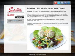Satellite Eat Drink Orbit gift card purchase