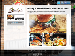 Stanley's Northeast Bar Room gift card purchase