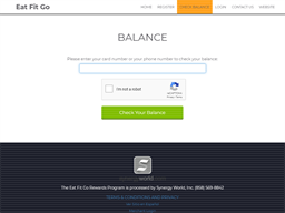 Eat Fit Go gift card balance check