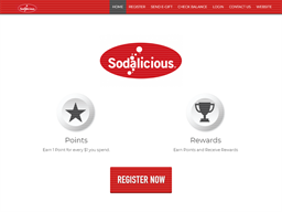 Sodalicious gift card purchase