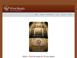 Wine Steals gift card purchase