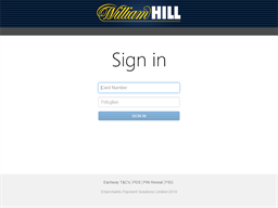 William Hill Card gift card balance check