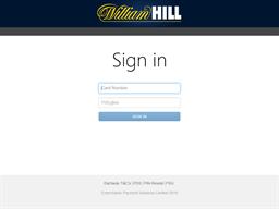 William Hill Card gift card balance check