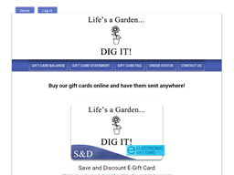 Save and Discount gift card purchase