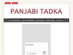 Panjabi Tadka gift card balance check