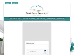 Best Face Forward Skin Care Spa gift card balance check