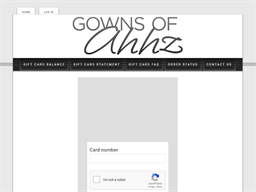 Gowns of Ahhz gift card balance check