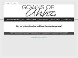Gowns of Ahhz gift card purchase