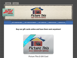 Picture This gift card purchase