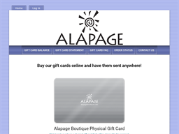 Alapage Boutique gift card purchase