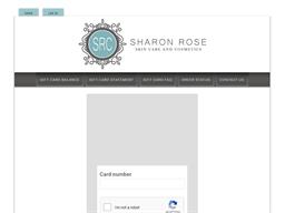 Sharon Rose Cosmetics gift card balance check