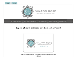 Sharon Rose Cosmetics gift card purchase