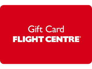 Flight Centre gift card design and art work