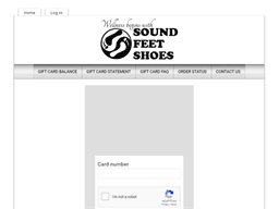 Sound Feet Shoes gift card balance check