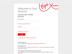 Virgin Mobile PAYG gift card balance check