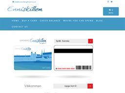 Enniskillen gift card balance check
