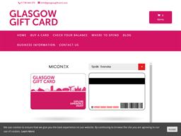 Glasgow Gift Card gift card balance check