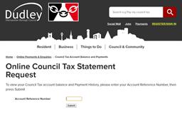 Dudley Metropolitan Borough Council gift card balance check