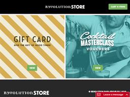 Revolution Bars gift card purchase