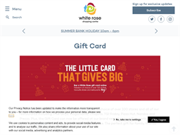 The White Rose Gift Card gift card purchase