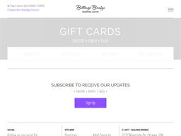 Billings Bridge gift card purchase