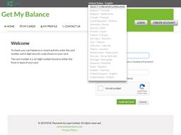 Burlington Centre gift card balance check