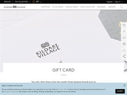 Kildare Village gift card purchase