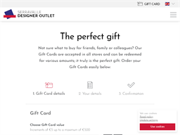 McArthurGlen Vancouver Designer Outlet gift card purchase