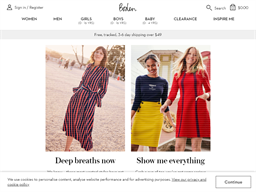 Boden USA shopping